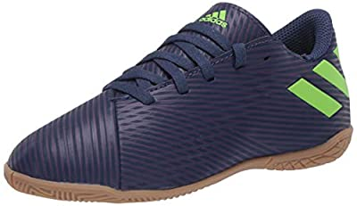 adidas Unisex Nemeziz Messi 19.4 IN Sneaker, Indigo/Green/Purple, 1.5 M US Little Kid