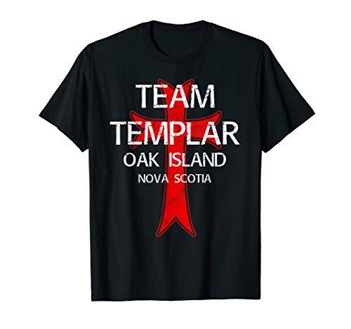 Eiche Insel T-Shirt TREASURE Hunter Templar Geheimnis