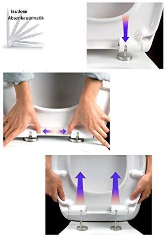 Geberit Duofix Vorwandelement UP 100 + Ideal Standard WC, Spülrandlos mit LotusClean Beschichtung + Absenkautomatik + Delta 21 Drückerplatte + WC Deckel - 7
