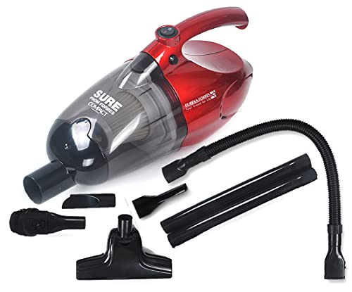 Eureka Forbes Sure From Forbes Compact Vacuum Cleaner(700 Watts) with washable HEPA Filter (Red...