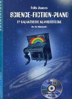 SCIENCE FICTION PIANO - arrangiert für Klavier - mit CD [Noten / Sheetmusic] Komponist: JANOSA FELIX