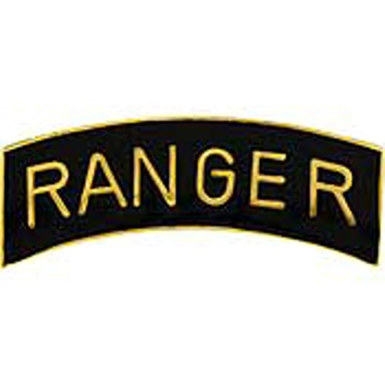 EagleEmblems P40208 PIN-Army,Ranger,TAB (GLD/BLK) (2.5'')