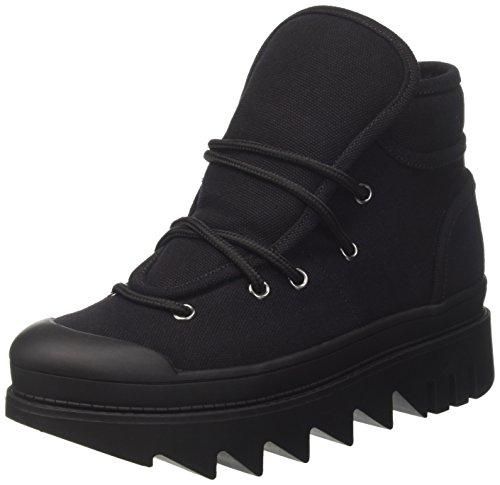 Jeffrey Campbell Damen JCP35JC163CAN Hohe Sneaker, Nero (Black Canvas), 37 EU