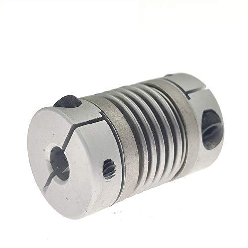Las Partes de Repuesto Acoplamiento 5/6 / 6.35/8/9/10 / 12/14 / 16mm Aleación de Aluminio CNC para...