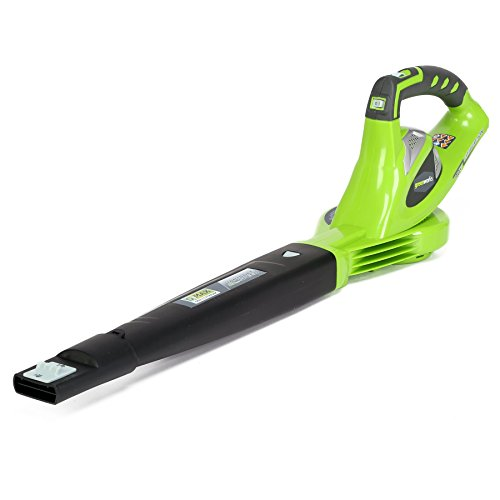 Greenworks 40V 150 MPH Variable Speed Cordless Blower, Battery Not Included 24282 (Renewed)