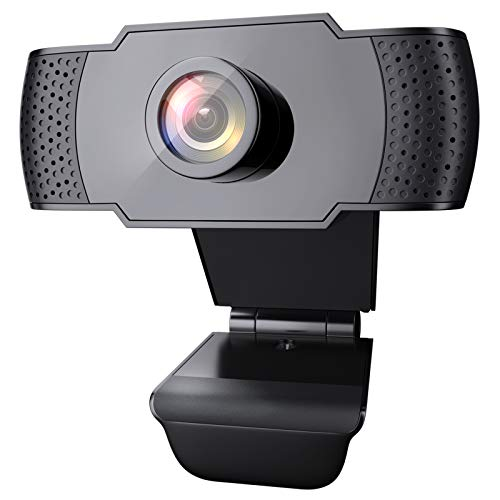 wansview Webcam 1080P con Microfono, Webcam PC Laptop Desktop Computer USB 2.0...