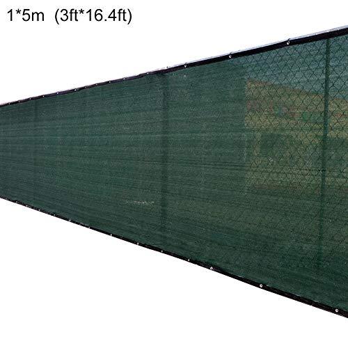 Onlyonehere Cubierta de Pantalla de privacidad Impermeable Duradero Multifunción Cubierta de protección Solar Escudo Valla de Pantalla de privacidad para jardín Patio Trasero