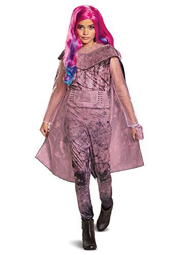 Disguise Disney Audrey Descendants 3 Deluxe Girls' Costume Pink, Medium (7-8)