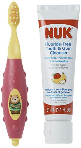 NUK Toddler Tooth and Gum Cleanser with...