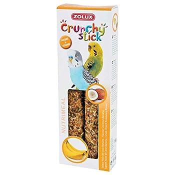 Zolux Crunchy Stick Friandise pour Perruche Noix de Coco/Banane 85 g