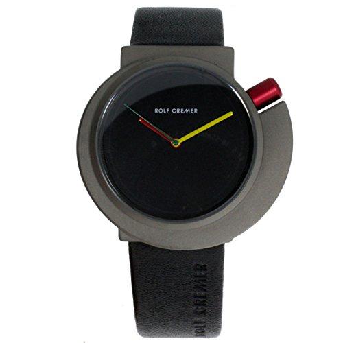 Rolf Cremer Spirale 492314 Unisex Armbanduhr Schwarz