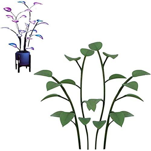 Hahepo Planta artificial de interior con luces LED decorativas, bonsái que brillan por la noche para el hogar, la oficina, el exterior o el interior