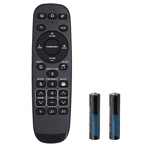 Universal Remote Control with Battery Fit for Polk Audio Ultra-Slim TV Soundbar RE6214-1 RE62141 RTRE62141 Signa S1 Signa S2 Signa S3