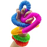 POPDA Fun Tube That Offers Touch and Sound Games,Fidget Toys for Sensory Kids and Learning Toys .