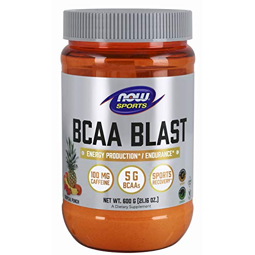 NOW Foods BCAA Blast Powder, Tropical Punch, 700 g