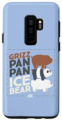 Galaxy S9+ We Bare Bears Grizz Pan Pan Ice Bear Case