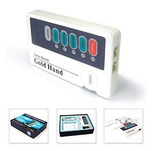 XFT Elettrostimolatore Tens EMS 2 Canali 4 Elettrodi, Alta Potenza, Compatto Robusto, Funzionale ed Efficace.