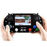 ゲームハット Raspberry Pi A+/B+/2B/3B/3B+/Zero/Zero W用 ポータブルゲームコンソール ゲームパッドキット 3.5インチ IPSスクリーン付き スムーズにディスプレイ