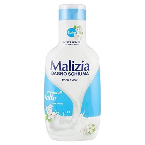 bain moussant nutritif al profumo di latte 1000 ml