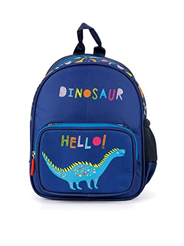 QIPS 10 Inch School Bag Mini Backpack for Playschool Montessori Infants Toddlers kids with all over printing