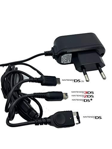 Chargeur Compatible avec Nintendo 3DSxl 3DS DSi DSiXL XL 2DS DS Lite DS Game Boy Advance SP New Chargeur Alimentation 3 en 1