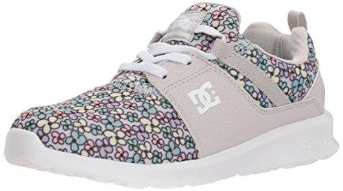 DC Girls' Heathrow SP Skate Shoe, Multi, 3 M US Little Kid
