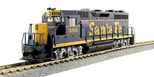 Kato USA Model Train Products HO EMD GP35 Phase Ia - AT&SF