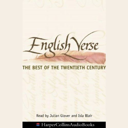 English Verse audiobook cover art