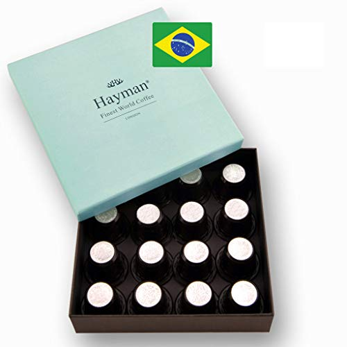 Brazilian Cup of Excellence®** award-winner coffee in pods compatible with Nespresso®* Original Machines - One of the world's best coffees, freshly roasted for you on shipment day! (Box with 16 pods)