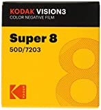 Kodak Vision3 Super 8 mm negativo de película color 7203 50d