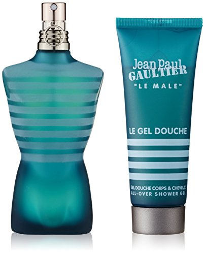 Le Male by Jean Paul Gaultier for Men 2 Piece Set Includes: 2.5 oz Eau de Toilette Spray + 2.5 oz Shower Gel