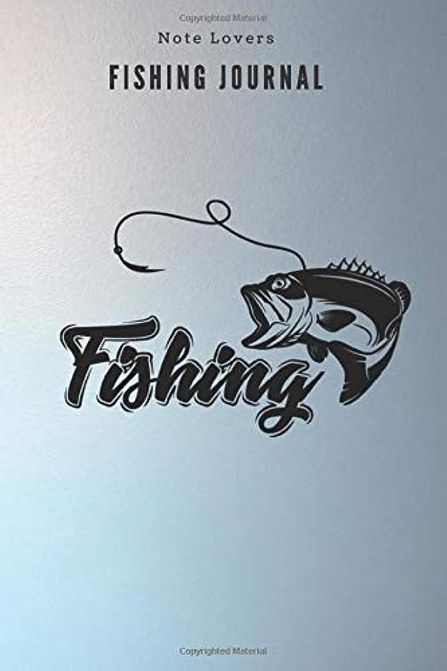 固体悪化させる側面Fishing - Fishing Journal: Fishing Log Book | Perfect Gift For Gift for Fishing Lover