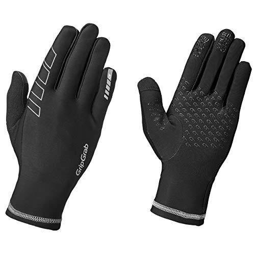 GripGrab Handschuhe Winter Insulator Übergangs Fahrradhandschuhe, Schwarz, S