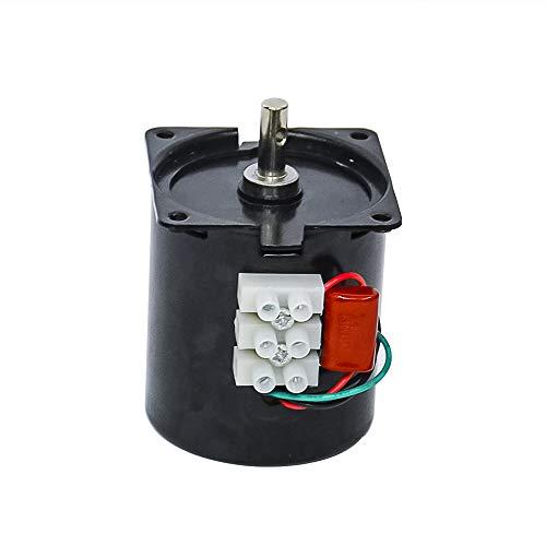 AC 220V 28W kleine elektrische aandrijfmotor instelbare permanente magneet synchroonmotor met laag toerental voor platenspeler rotisserie, AC 220 V, 110 Rpm, 68