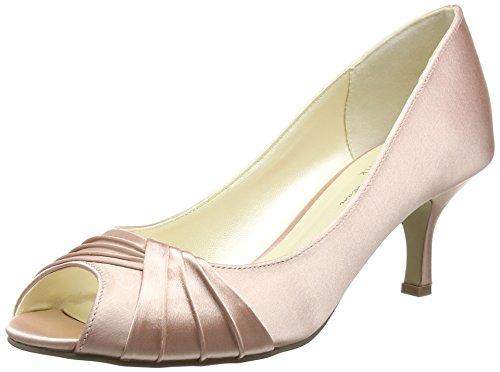 Pink by Paradox of London Damen Romantic Peep-Toe, Rosa (Blush), 37 EU