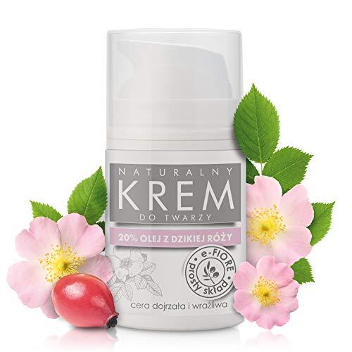 E-Fiore Natural Face Cream 20% rosehip oil