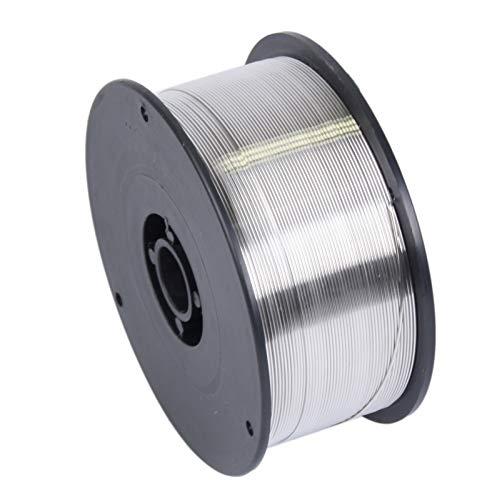 WELDINGER Aluminiumschweißdraht ALMg5 0,8 mm 0,5 kg 10 cm Rolle (MIG/MAG-Schweißdraht Drahtelektrode D100)