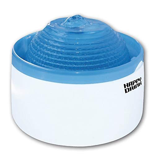 Croci C6020390 Happy Drink Wasserspander für Katzen, blau