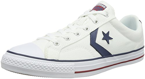 Converse Star Player Zapatillas, Unisex Adulto, Blanco, 44.5