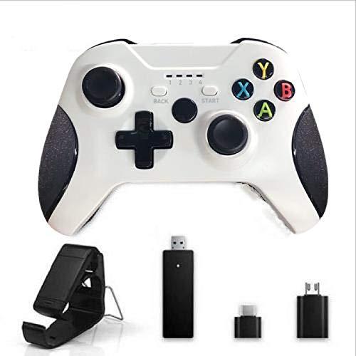 ワイヤレスコントローラー、2.4GゲームジョイスティックXboxOneコントローラーPs3 / AndroidスマートフォンゲームパッドWinPc 7/8/10 04Otg