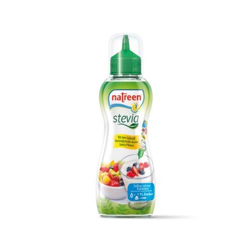 Natreen Stevia Flüssigsüße, 6er Pack (6 x 125 ml)