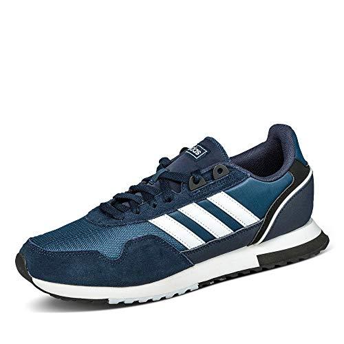 adidas 8K 2020, Zapatillas de Running Hombre, Tinley/FTWBLA/AZMATR, 46 EU
