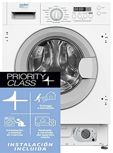 lavadora balay integrable 8kg Marca SAUBER