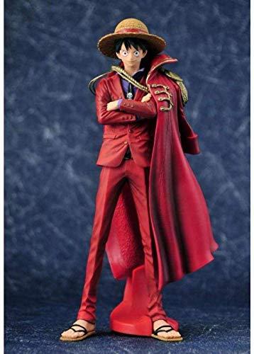 Estatua de Juguete One Piece Modelo de Juguete Personaje de Dibujos Animados Regalo/Colección 20 Aniversario KOA Cape Wind Road 25CM
