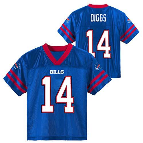 Outerstuff Stefon Diggs Buffalo Bills #14 Youth 8-20 Blue Home Player Jersey (10-12)