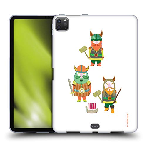Head Case Designs Officially Licensed Turnowsky Vikings Childhood Fantasy Soft Gel Case Compatible with Apple iPad Pro 11 (2020)