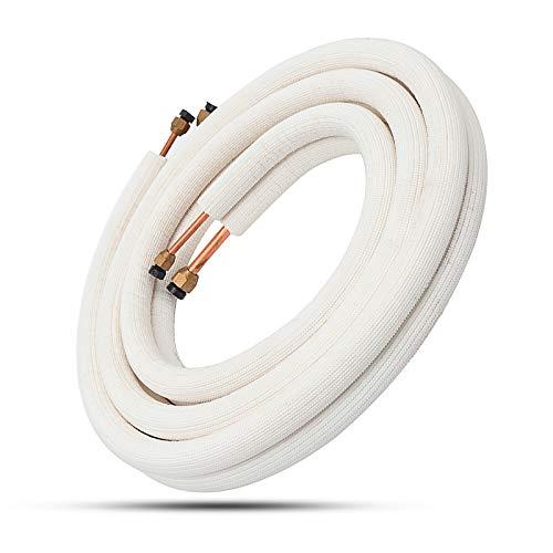 ChaRLes 3M Isolato Tubo Di Rame Linea Split 1 4   1 2 Aria Condizionatore Tubi Raccordi Coppia Bobina Tubo