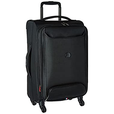 Delsey Luggage Chatillon 21  Carry-on Exp. Spinner Trolley, Black