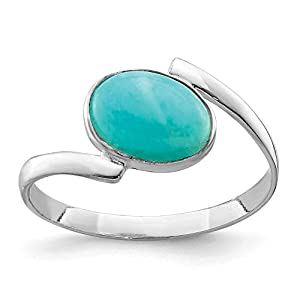 925 Sterling Silver Oval Amazonite Band Ring Gemstone Fine Jewelry For Women