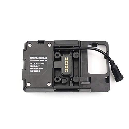 KKmoon Handy Navigation Halter Handyhaltung mit USB Ladegerät für BMW R1200GS LC & Adventure S1000XR R1200RS